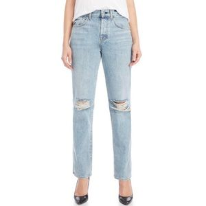 7 for All Mankind Rickie Boyfriend Ripped Jeans